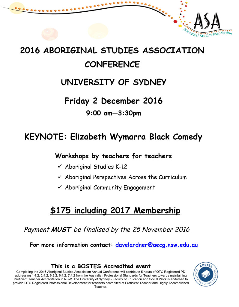 2016 ASA conference flyer
