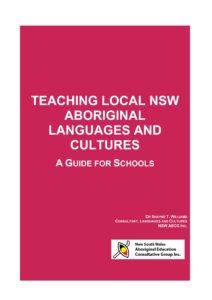 Teaching Aboriginal Languages and Cultures